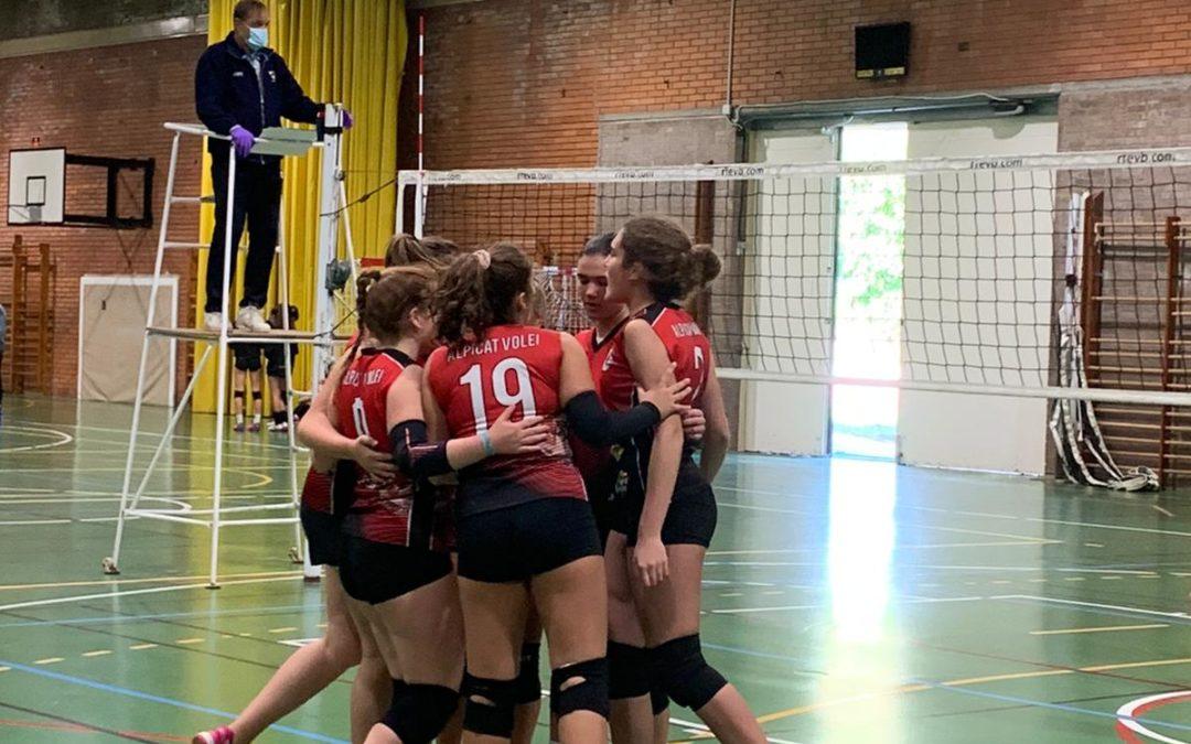 Cadet: CECELL Lleida C 3 – 2 Alpicat Vòlei